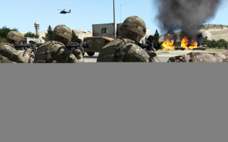 BISim's VBS3 is part of the U.S. Army?s current Game-For-Training program of record. Image by BISim.