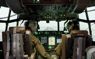 Image of flight simulator: Lockheed Martin