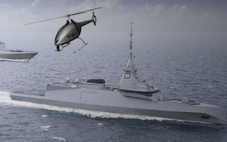 French government, naval consortium collaborate on first rotary-wing drone for a warship