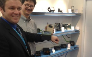 Rugged wrist-worn computers on display at Embedded World