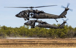 UH-60 Black Hawk helicopters. New Jersey Air National Guard photo by Master Sgt. Mark C. Olsen.
