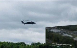 Livestream satellite connectivity from in-flight helicopter successfully demos