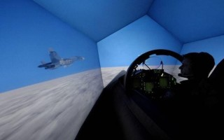 Aircraft simulators now linking F-35 pilots with other platforms