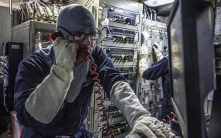 U.S. Navy photo by Mass Communication Specialist 2nd Class James R. Turner.