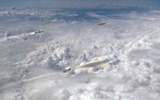 Artist's concept of Glide Breaker hypersonic vehicle. Credit: DARPA/Aerojet Rocketdyne.