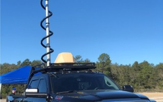 DroneShield and TRAKKA's combined on-vehicle TIPS-C system. DroneShield photo.