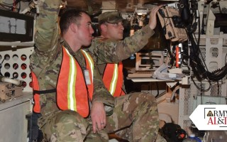 Soldiers assess mounted, dismounted, and NAVWAR capabilities and systems in simulated environments. U.S. Army photo.