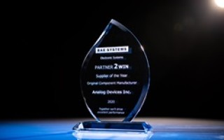 ADI honored with Supplier of the Year award from BAE Systems