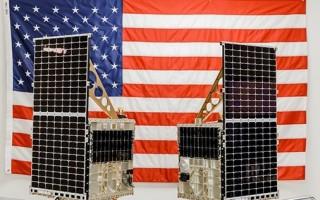 Two Mandrake 2 satellites deployed under DARPA's Blackjack Program