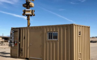 Liteye containerized counter-UAS system