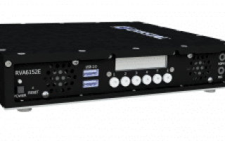 Crystal Group's new RVA6152 video encoder. Photo courtesy Crystal Group.