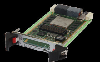 VPX board for HPEC enhanced by fiber-optic backplane interfaces