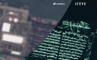 Under 1-meter resolution radar imagery achieved by ICEYE