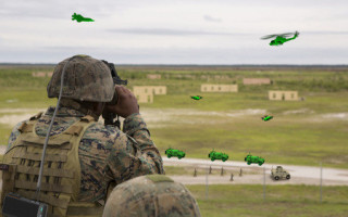 AR training system to support Dutch Army observers