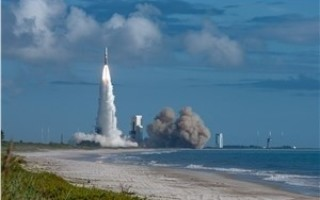 GPS III satellite launched from Cape Canaveral