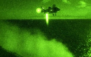 First night vertical landing made by F-35B on Aboard USS Wasp