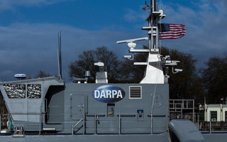 """DARPA & ONR to begin open-water testing on unmanned """"Sea Hunter"""" ship"""