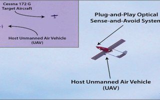 UAV demonstrates optical sense-and-avoid capability