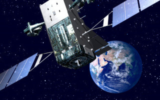 USAF missile-warning satellite launches, on its way to final orbit