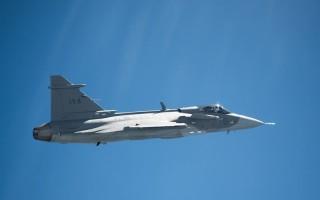 Gripen E smart fighter jet makes first test flight