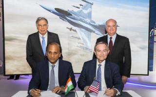 Tata & Lockheed Martin sign F-16 Block 70 aircraft agreement