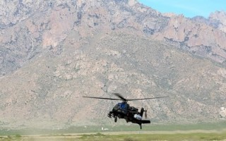 U.S. Army's Apache AH-64 completes flight test with high energy laser