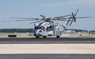 CH-53K King Stallion starts transition to Naval Air Station