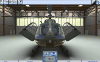 DiSTI to continue support for the U.S. Army's UH-72A Lakota virtual maintenance trainer