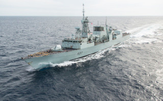 Image of HMCS Fredericton: Royal Canadian Navy