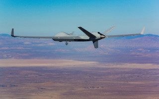 General Atomics Aeronautical Systems demos SATCOM-enabled UAV launch and recovery