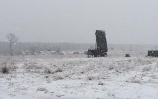 G/ATOR undergoes cold weather testing. Image by Northrop Grumman.