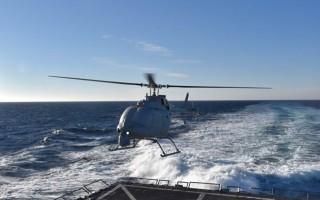 MQ-8C Fire Scout Unmanned Autonomous Helicopter.