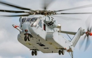 USMC takes delivery of first CH053 King Stallion helicopter from Sikorsky