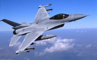 New F-16V with AESA radar showcased at Singapore Airshow