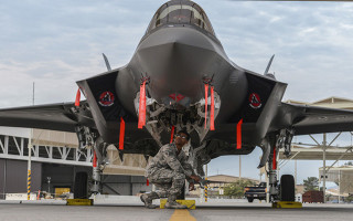 F-35 electronic warfare systems readiness contract won by BAE Systems