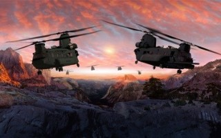 Chinook Block II helicopter program moves to final assembly
