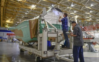 Northrop Grumman begins full-rate production of F-35 center fuselage