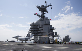 Navy aircraft launch and recovery systems progress through tests