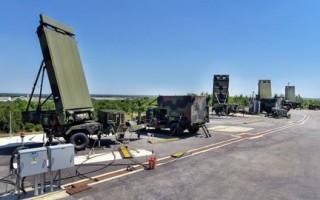Four G/ATOR systems preparing for fielding located at Northrop Grumman?s Stoney Run test range in Baltimore, Md. Northrop Grumman photo.