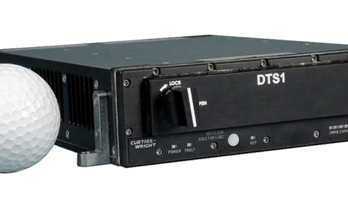 Figure 1| The Data Transport System (DTS1) network attached storage (NAS) device can be used in UASs operating as high as 40,000 feet (7.5 miles).