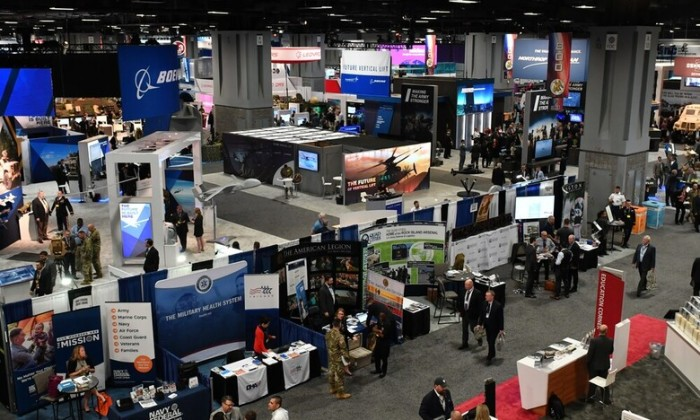 Photo taken at a past AUSA Annual Meeting and Exposition. Image: U.S. Army
